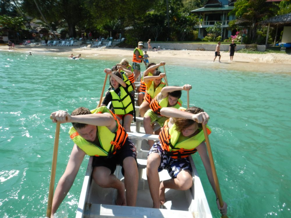 Dragon Boating Adventures in Thailand